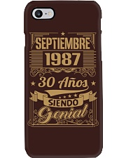 Septiembre 1987 Phone Case thumbnail