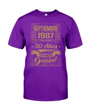 Septiembre 1987 Classic T-Shirt front