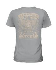 I'm not 58 Ladies T-Shirt thumbnail