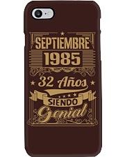 Septiembre 1985 Phone Case thumbnail