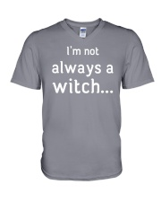 I'm not always a witch V-Neck T-Shirt front