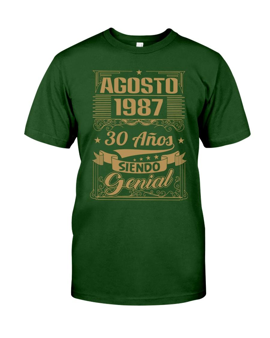 Agosto 1987 Classic T-Shirt