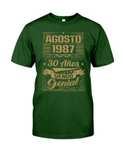 Agosto 1987 Classic T-Shirt front