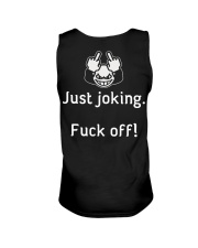 I'm not always a hussy Unisex Tank back