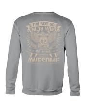 I'm not 60 Crewneck Sweatshirt thumbnail