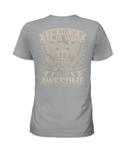 I'm not 57 Ladies T-Shirt thumbnail