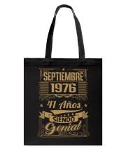 Septiembre 1976 Tote Bag thumbnail