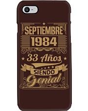 Septiembre 1984 Phone Case thumbnail