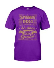 Septiembre 1984 Classic T-Shirt front