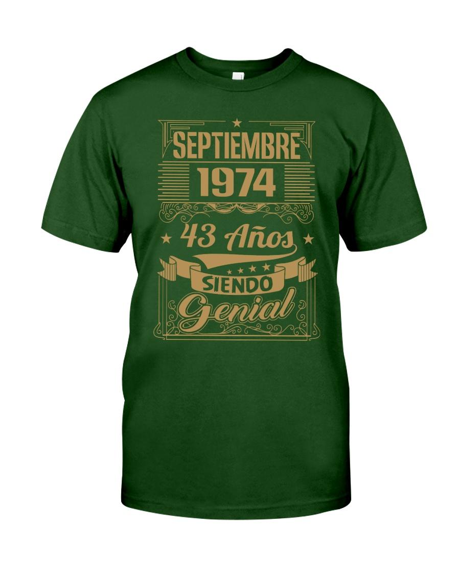 Septiembre 1974 Classic T-Shirt