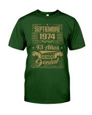 Septiembre 1974 Classic T-Shirt front
