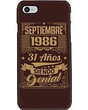 Septiembre 1986 Phone Case thumbnail