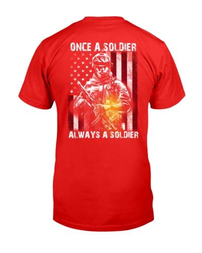 Veteran - Always a Soldier