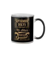 Septiembre 1971 Color Changing Mug thumbnail