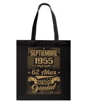 Septiembre 1955 Tote Bag thumbnail