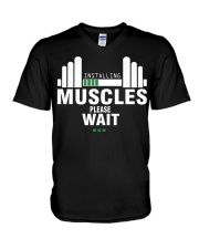 Gym Gym V-Neck T-Shirt thumbnail