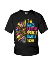 IT TAKES A LOT OF SPARKLE TO BE A TEACHER Youth T-Shirt thumbnail