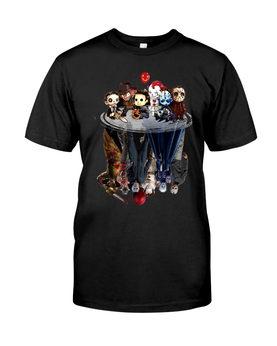 Halloween mirror Classic T-Shirt