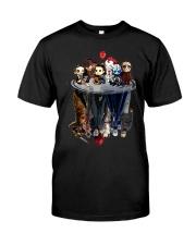 Halloween mirror Classic T-Shirt front
