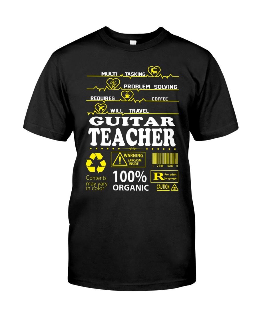 GUITAR TEACHER Classic T-Shirt