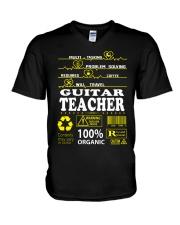 GUITAR TEACHER V-Neck T-Shirt thumbnail