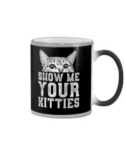 Show me your kitties  Color Changing Mug color-changing-right