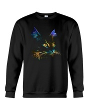 3D Lighting Cat Crewneck Sweatshirt thumbnail