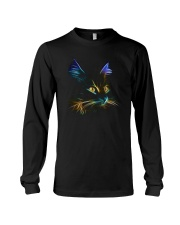 3D Lighting Cat Long Sleeve Tee thumbnail