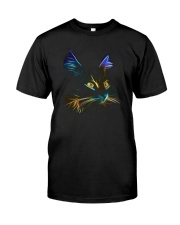 3D Lighting Cat Classic T-Shirt thumbnail