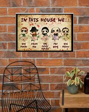 In This House We 24x16 Poster poster-landscape-24x16-lifestyle-24