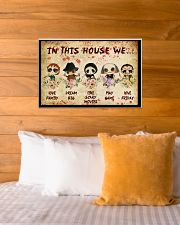 In This House We 24x16 Poster poster-landscape-24x16-lifestyle-27