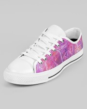 Purple Move Sneakers Men's Low Top White Shoes aos-men-low-top-shoes-ghosted-white-outside-left-02