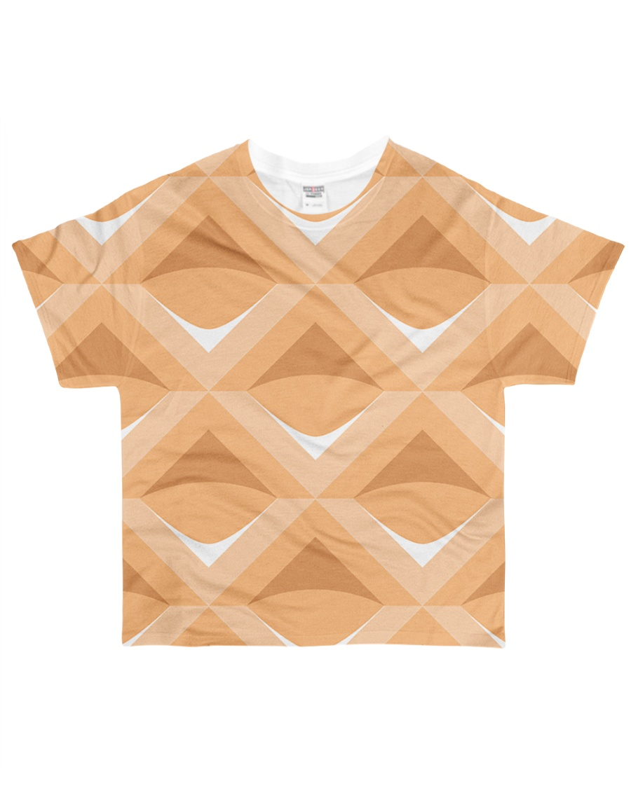 Waffle Tshirt All-over T-Shirt