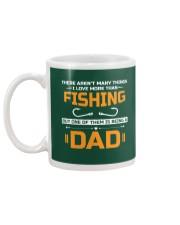 Love More Than Fishing Mug back