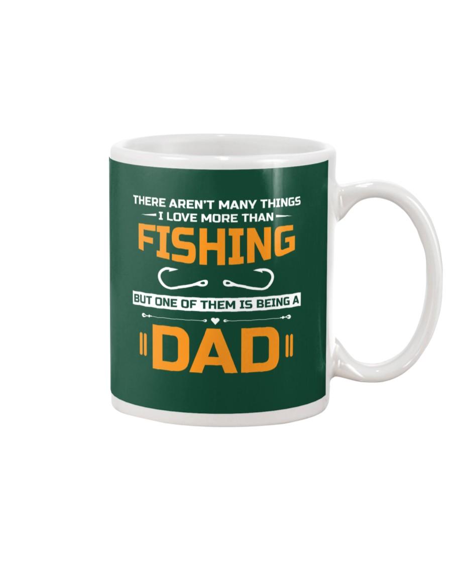 Love More Than Fishing Mug