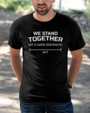 We Stand Together at a Safe Distance Classic T-Shirt apparel-classic-tshirt-lifestyle-front-50