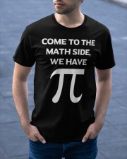 Come to the Math Side Classic T-Shirt apparel-classic-tshirt-lifestyle-front-46
