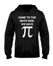 Come to the Math Side Hooded Sweatshirt tile