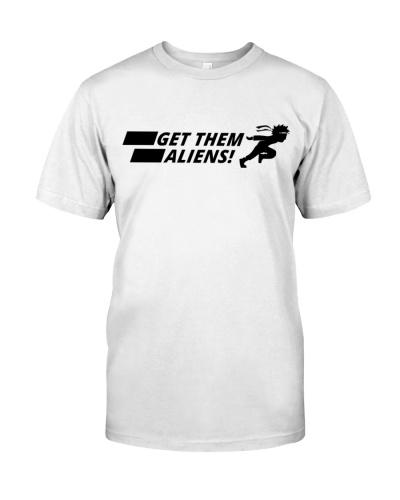 Funny Get Them Aliens Shirt Area 51 Shirt