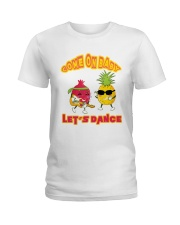come on baby let's dance Ladies T-Shirt thumbnail