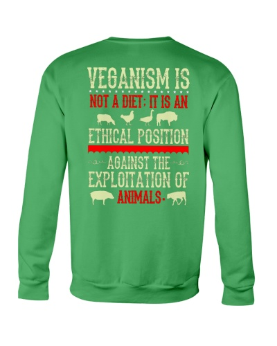Veganism is an ethical position