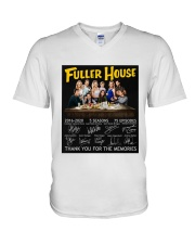 Fuller House Signatures V-Neck T-Shirt thumbnail