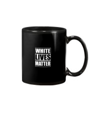 White Lives Matter T Shirts Mug thumbnail