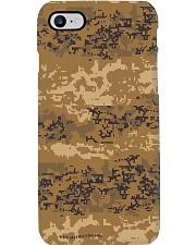 Austrian Jagdkommando pixeltarnung desert camo Phone Case thumbnail
