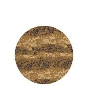 Austrian Jagdkommando pixeltarnung desert camo Circle Cutting Board thumbnail