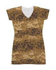 Austrian Jagdkommando pixeltarnung desert camo All-over Dress thumbnail