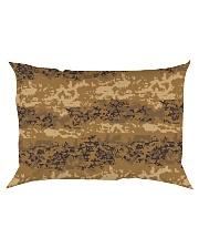 Austrian Jagdkommando pixeltarnung desert camo Rectangular Pillowcase thumbnail