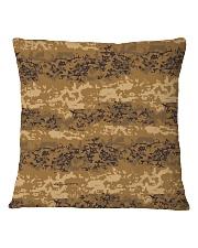 Austrian Jagdkommando pixeltarnung desert camo Square Pillowcase thumbnail