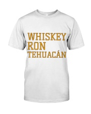 Whiskey Ron Tehuacán Classic T-Shirt front