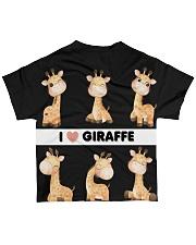 I LOVE GIRAFFE AMAZING GIFT All-over T-Shirt back